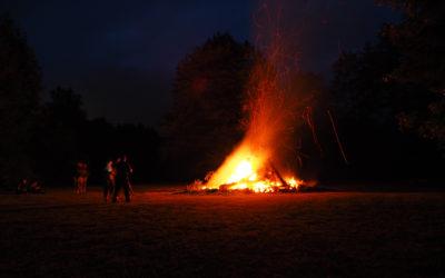 Den Sommer begrüßen: Das war die Sonnwendfeier 2019 in Halbach